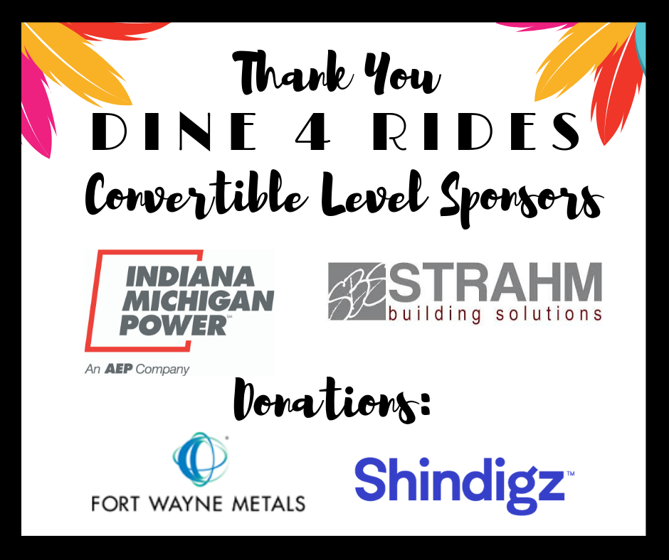 Indiana Michigan Power, Strahm Building Solutions, Fort Wayne Metals, Shindigz